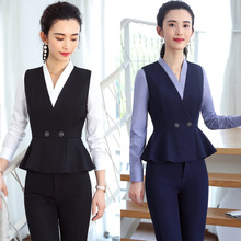 IZICFLY New Style Vest Waistcoat And Pant dames pakken For women suits office