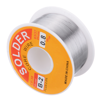 цена на High Quality 63/37 Rosin Core Solder Wire Flux 2% Tin Lead Solder Iron Welding Wire Reel 0.5mm-2.0mm 50g/100g