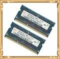 Памяти ноутбука для Hynix DDR3 4 ГБ 2 x 2 ГБ 1066 мГц PC3-8500 ноутбук оперативной памяти 8500 S 2 г 4 г пожизненная гарантия