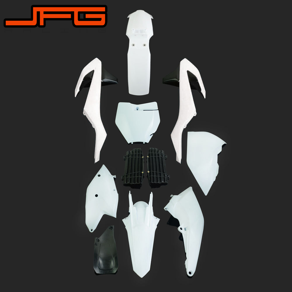 Motorcycle Plastic Kit Fairings Fender Radiator Shroud For KTM SX125 SX250 SXF250 SXF350 SXF450 XCF250 XCF350
