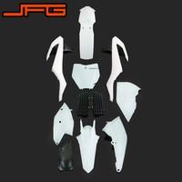 Motorcycle Plastic Kit Fairings Fender Radiator Shroud For KTM SX125 SX250 SXF250 SXF350 SXF450 XCF250 XCF350 XCF450 2016 2017