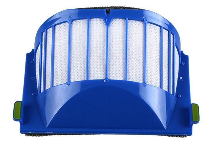 10pcs AeroVac Blue Filters for irobot roomba 536 550 551 552 564 595 Series 600 610 615 620 630 650 660 Series битоков арт блок z 551