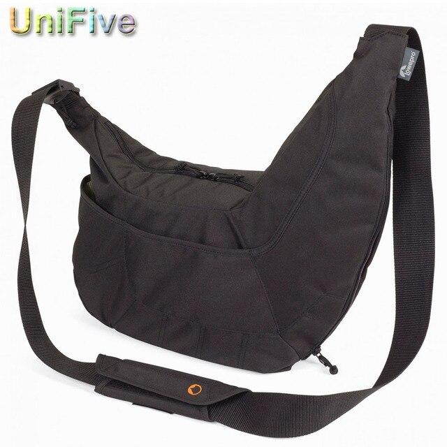 Promotion Sales Lowepro Black/Gray Passport Sling SLR camera bag Travel Bag shoulder camera bag