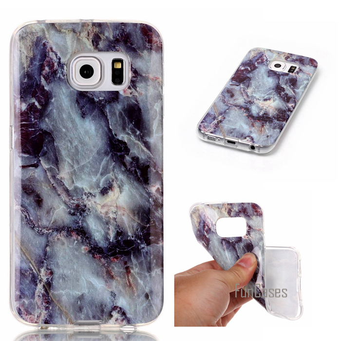 Phone Cases For copue Samsung Galaxy S3 S4 S5 S6 S6 edge S7 S7 edge Soft TPU Granite Marble case cover Luxury fundas
