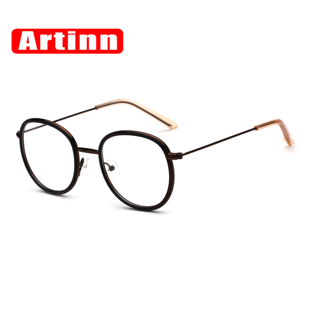b7028a99a0d Luxury Brand Designer Vintage Prescription Optical Eye Glasses Frame Retro  Round Men Women Eyewear Old Fashion