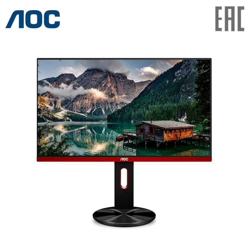 Computer monitor 27 AOC G2790PX Black screen rotation (LED, 1920x1080, 1ms, 400 cd/m, 20M:1, +2xHDMI,+DisplayPort,+USB usb multi angle rotation adjustment 100lm led warm white light desk lamp w suction cup black