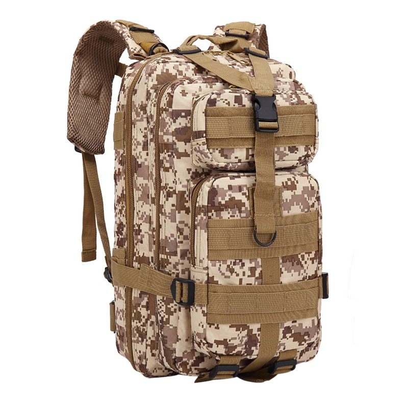 SHUJIN Nylon Tactical Backpack Military Backpack Waterproof Army Rucksack Outdoor Camping Hiking  Sports Large Capacity Bags