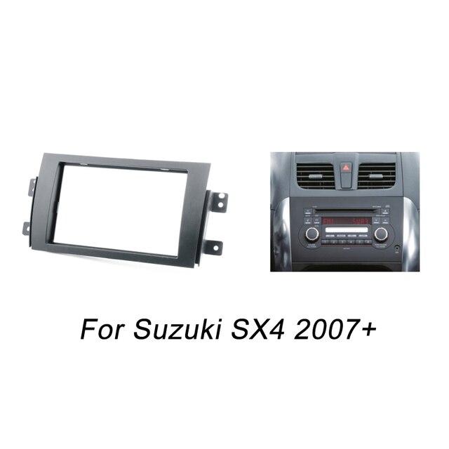 2007 Suzuki Sx4 Fuse Box Location: Doble DIN Fascia Para Suzuki SX4 Radios DVD Estéreo Panel