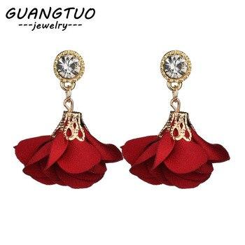 Crystal Drop Earrings For Women