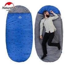 Free shipping outdoor camping adult Sleeping bag waterproof keep warm four seasons spring summer sleeping bag for Camping Travel
