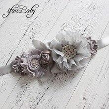 Модные с поясом, декорированным цветком, для девочек, для девушек и женщин свадебный пояс, кушак пояс-кушак