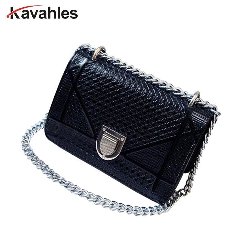 New 2017 Women Messenger Bag Fashion women Handbag chain Fresh Girls Bags One Shoulder Small Women