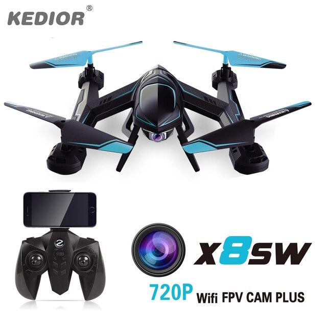 720 P X8SW FPV Drone RC Quadcopter Вертолет 2.4 Г 4CH 6-осевой Вертолет Дронов Можно Добавить в Режиме реального времени 1.0MP HD Камера