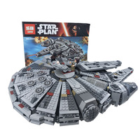 Lepin 05007 Force Awakens Millennium Falcon Building Blocks Compatible Legoingly Star Set Wars 75105 Walkie Talkie