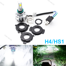 Motorcycle Headlight H4 LED Bulbs High Low Beam For Light 24W 2500LM M3 Mini Moto Headlamp DC 12V