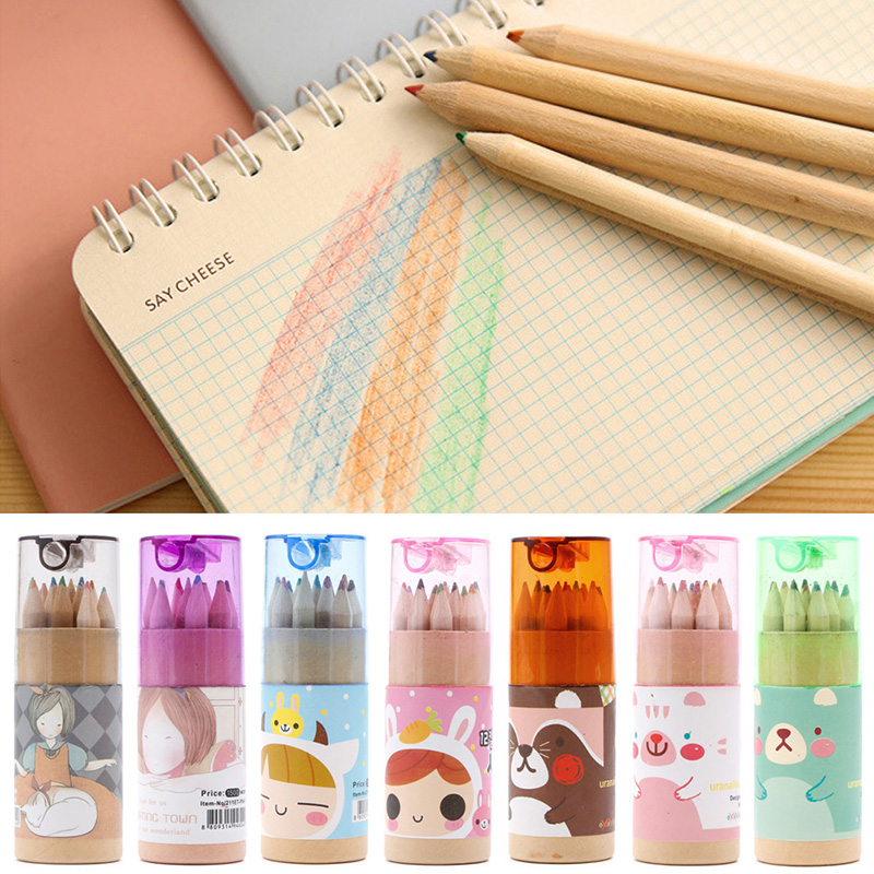 colour pencil 12 Color Artist Professional Drawing Painting Sketching Writing Pencil