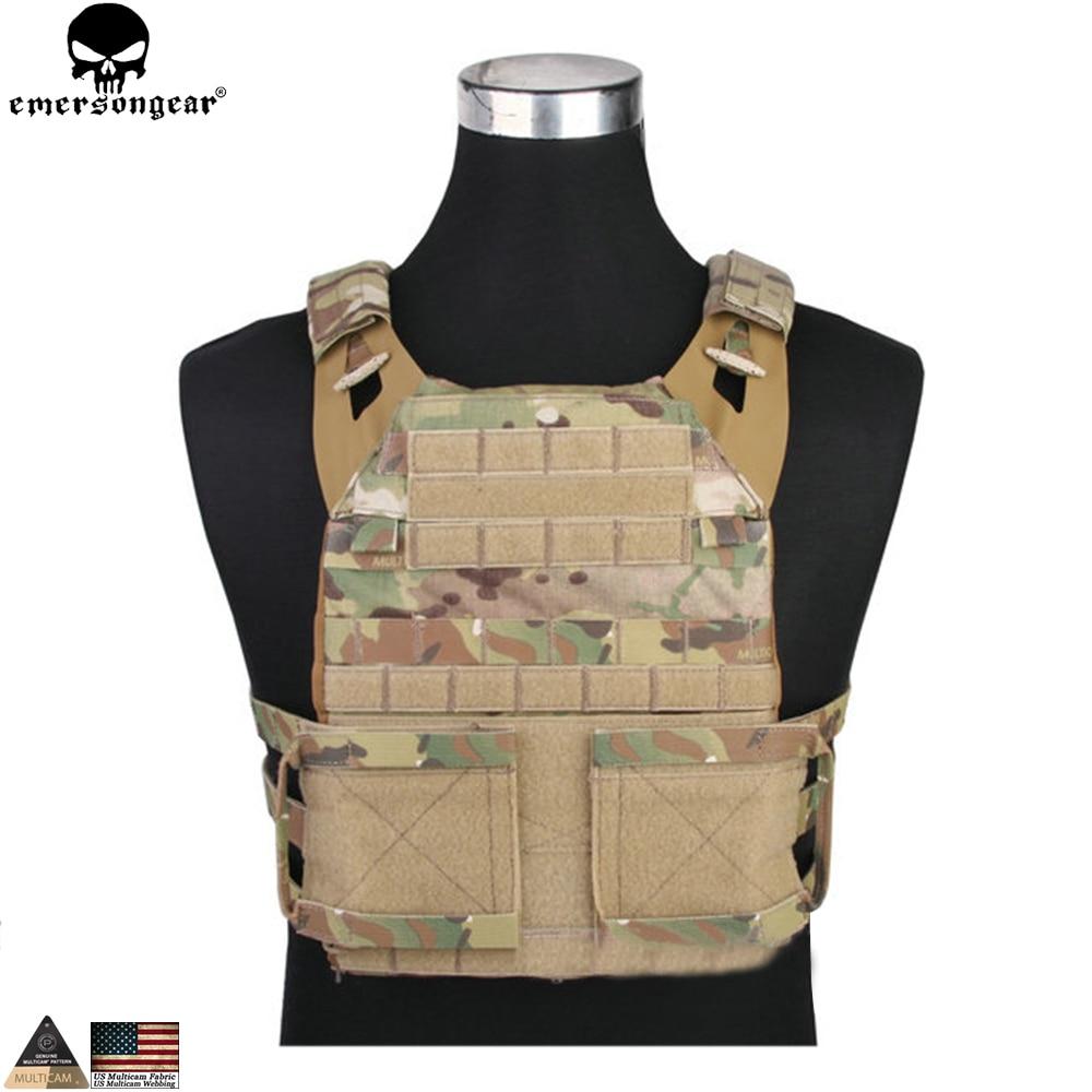 Здесь можно купить  EMERSONGEAR JPC 2.0 Tactical Jumpable Plate Carrier Lightweight Vest Body Armor Combat Hunting Molle Vest Multicam EM7436  Спорт и развлечения