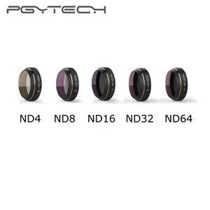 Image 1 - PGYTECH Mavic Pro ND4/8/16/32/64 Filters for DJI Mavic Pro Drone Camera Lens Filter HD Multi Layer Coating Reducing Cama Lens