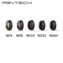 PGYTECH Mavic Pro ND4/8/16/32/64 filtry do DJI dron Mavic Pro filtr obiektywu kamery HD wielowarstwowa powłoka redukująca obiektyw Cama