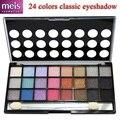 Maquiagem 24 cores de sombra paleta de maquiagem sombra shimmer paleta maquiagem beleza com lápis de olho 2413