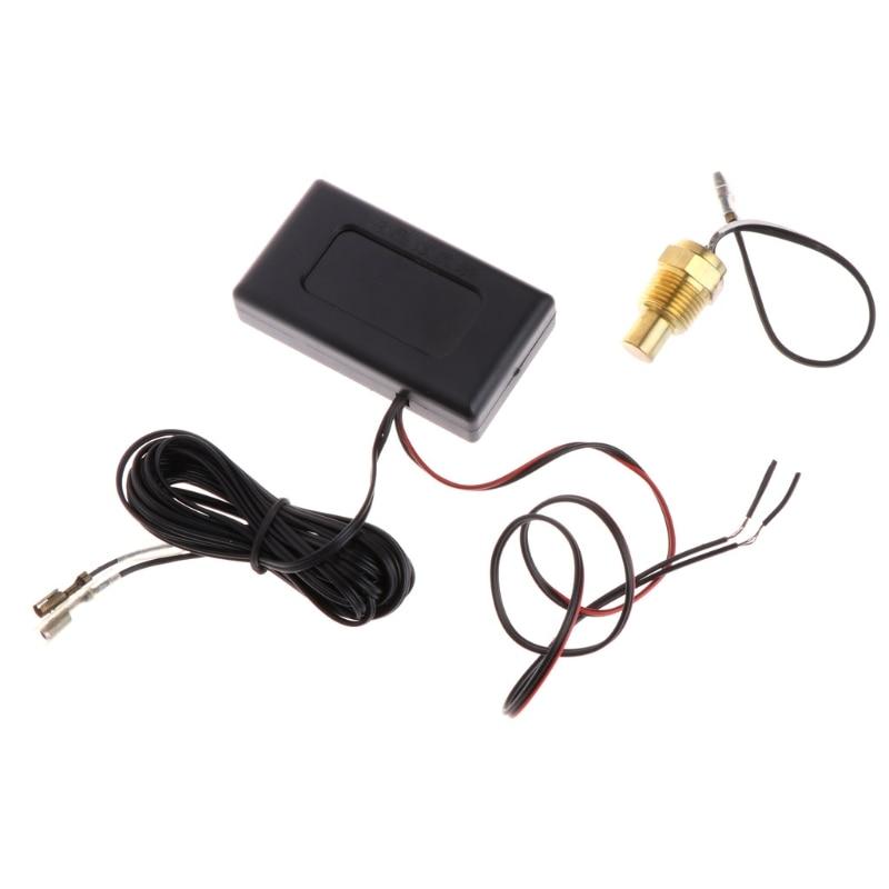 Mini Numérique De Voiture Écran lcd Intérieur Extérieur Thermomètre 12 V Véhicules 1.5 m Câble Capteur