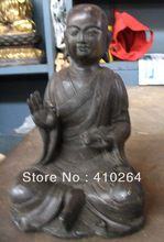 ZSR [old craft ] 18cm King of the underworld Buddha bronze statue (A0314)(China)
