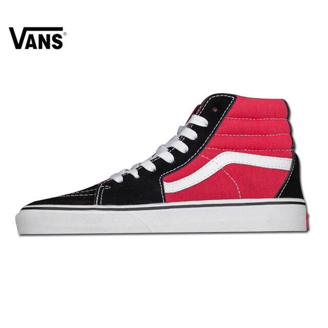 vans red high top