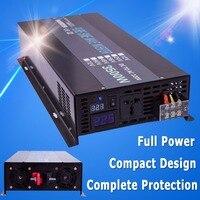 Solar Grid 3500W Pure Sine Wave Power Frequency Inverter Board DC 12V 24V to AC 120V 240V Converter Inverter 3500W