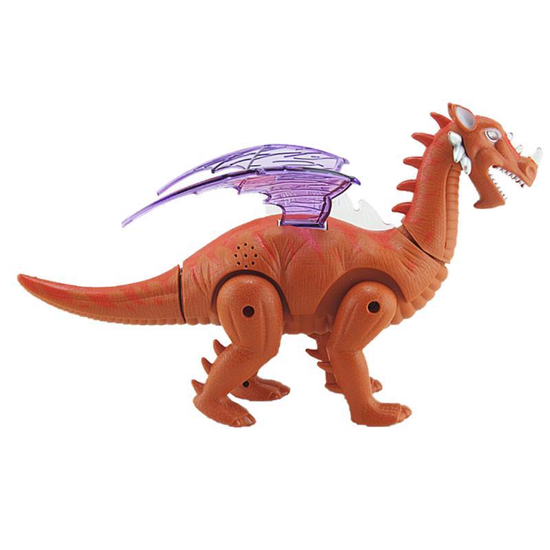Kinder Walking Dinosaurier Led Blinkt Spielzeug Projektion Gefälschte Tier Dinosaurier Modell Spielzeug Für Kinder Geschenk Attraktiv Und Langlebig