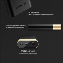 10000 mAh Power Bank Fast Charger QC3.0 Type-C & Micro  For Cell Phone for Iphone 8 X Charging External Phone Battery