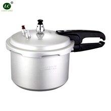 18 см 3 литровая алюминиевая скороварка мини газовая/индукционная плита скороварка Мини Быстрый суп горшок