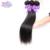 Queen story brasileiro do cabelo virgem reta 2 pacote lida cabelo virgem brasileiro não processado em linha reta feixes de cabelo humano preto