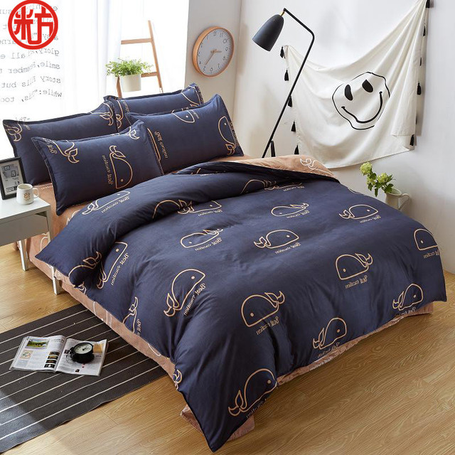 Flower 4Pcs/Set Duvet Cover Set 3