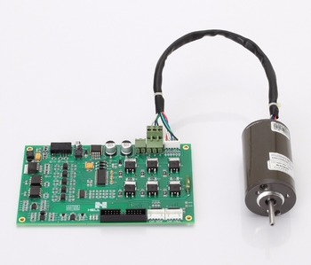 Three phase brushless DC motor drive board HDSP-BLDCM with position or no position sensor control