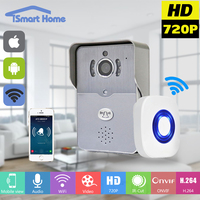 Wireless IP Doorbell With 720P Camera Video Intercom Phone WIFI Door Bell Night Vision IR Motion
