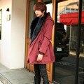 Além de forro maré masculino Coreano Magro popular casaco de inverno com capuz de algodão grosso outerwear