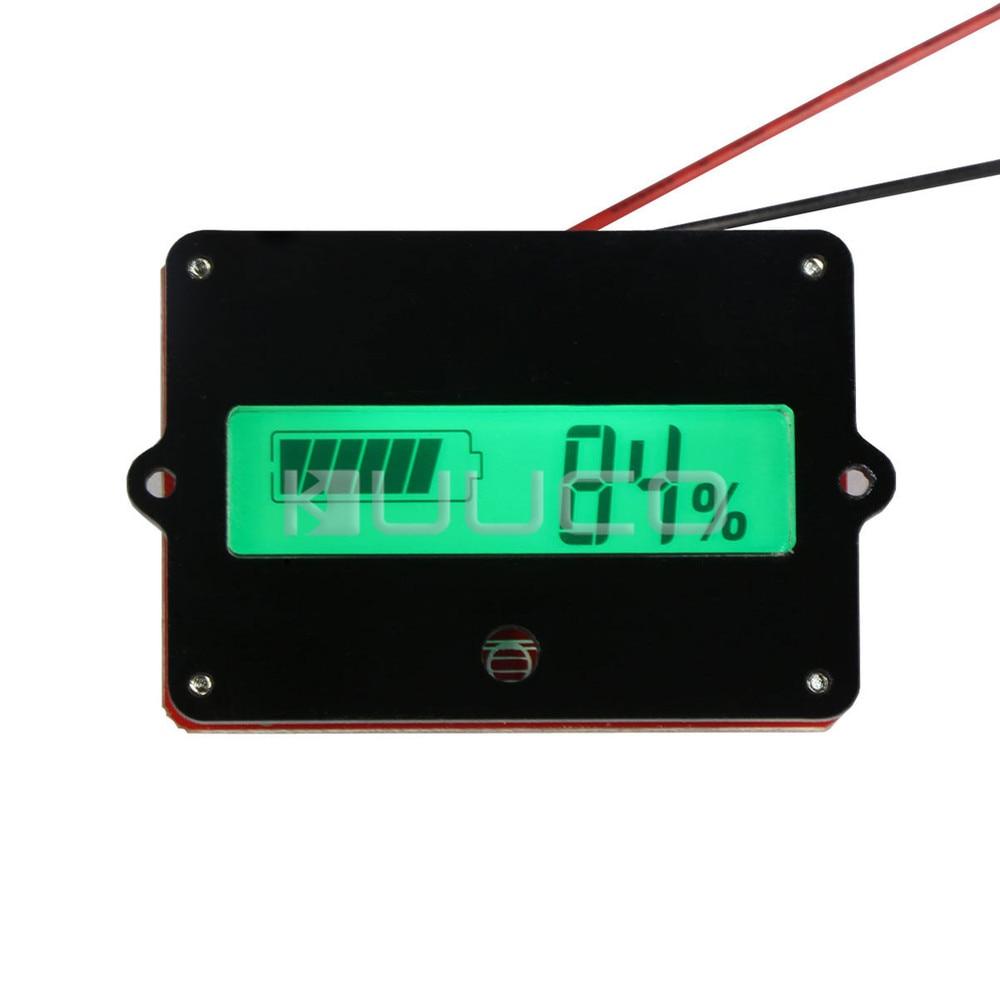 LCD Green Backlight Indicator DC 36V Battery Capacity Tester Battery Monitor Meter for 36V lead-acid battery etc