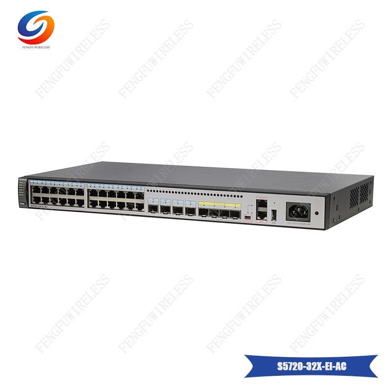 Fiber Optic Equipments Original Hua Wei S5700-li Series 8 Port Gigabit Switch S5700-10p-li-ac With Cheap Price Communication Equipments