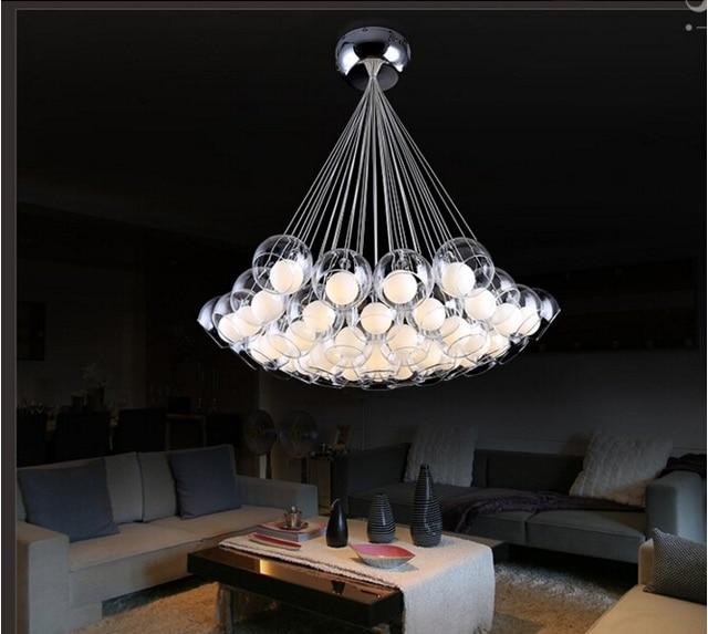 Attraktiv Moderne Glas Kronleuchter Für Esszimmer Personalisierte Wohnzimmer  Schlafzimmer Gang Restaurant LED Bubble Ball Kronleuchter Lampen