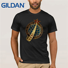 Gildan Brand Russia CCCP MNP 86 Emblem Space Exploration Program T-Shirt Summer Mens Short Sleeve