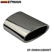 EPMAN 1Pc Chrome 304 Stainless Steel Exhaust Muffler Tip For BMW 11 13 X3 2 0