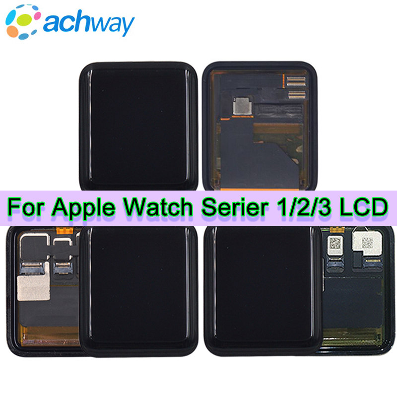 Original For Apple watch Series 3 lcd Display Touch Screen Digitizer SERIES 1 38mm 42mm SERIES 2 Pantalla+Tempered Glass ToolsOriginal For Apple watch Series 3 lcd Display Touch Screen Digitizer SERIES 1 38mm 42mm SERIES 2 Pantalla+Tempered Glass Tools