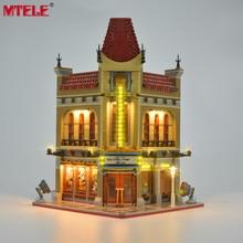 طقم إضاءة LED من العلامة التجارية MTELE لمجموعة إضاءة للسينما بقصر شارع المدينة الخالق متوافقة مع 10232 (لا يشمل الموديل)