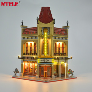 Image 1 - Брендовый светодиодный светильник MTELE, набор для уличного дворцового кинотеатра, светильник, совместимый с 10232 (модель не входит в комплект)