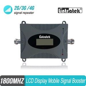 Image 1 - Усилитель сигнала сотового телефона Lintratek 2G 4G B3 1800 МГц, мини размер, GSM LTE 1800 повторитель сигнала мобильного телефона, усилитель #15