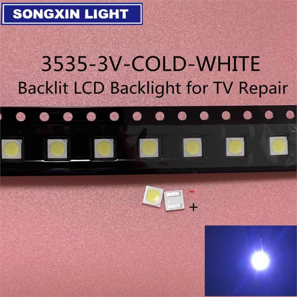 200 Chiếc Cho LG UNI Đèn Nền LED LCD Đính Hạt 3 V 6 V 3535 LED SMD Đèn Đính Hạt 3535 trắng Lạnh SEOUL WOOREE