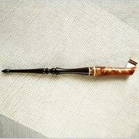 Deluxe Handmade Rose Wood Oblique Calligraphy Nib Dip Pen Copperplate Script Dip Pen Holder Best Gift Dip Pen