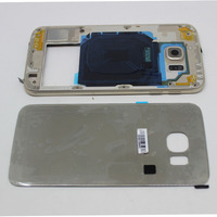 Accessories LCD Housing Bezel Front Cover Frame Fix Replacement For Samsung GALAXY S6 G920F G920A