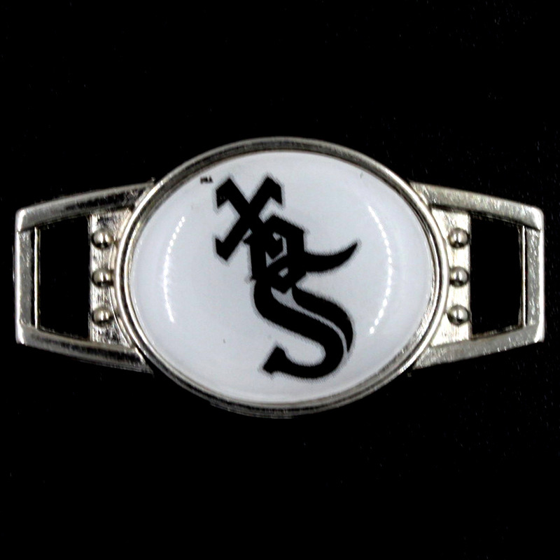 10PCS Chicago White Sox Baseball Shoelace Charms Jewelry Sports Sneakers Buckle Alloy Charms DIY Bracelets Jewelry