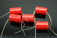 High quality thin film capacitor Axial capacitor Coupling capacitor 630V 474J 0.47UF 5% 5PCS Free Shipping